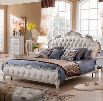 Treaditonal & Trendy King Size Soft Bed Furniture - My Aashis