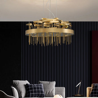 Modern Stainless Steel Pendant Light - My Aashis