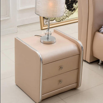 Splendid Trivial Leather Night Stand - My Aashis