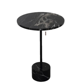 Dark High Quality Modern Marble Side Table
