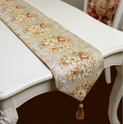 Quality Coffee Color Table Runners - My Aashis