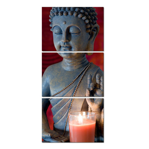 Canvas Still Life  Buddha Wall Paintings Decor
