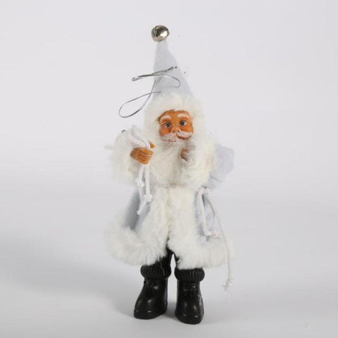 Christmas Santa Claus Doll Toy Christmas Tree Ornaments Decoration Exquisite For Home Xmas Happy New Year Gift