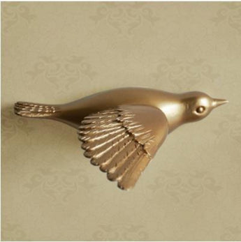 Creative Resin Bird Wall Murals, Wall Decoration