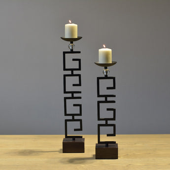 Metal Creative Big Tealight Candle Holder
