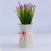 Durable and Flexible Reusable Delicate Designed Plastic Flower Vase - My Aashis