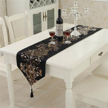 Luxury European Table Runner Upscale Neoclassical
