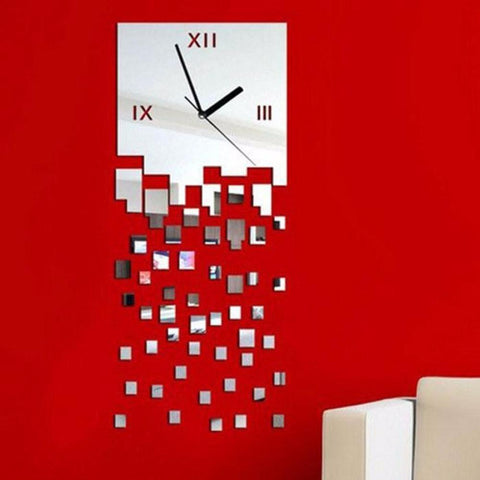 3D Wall Stickers Wall Clock Home Decoration DIY Wall Stickers Home Decor - My Aashis