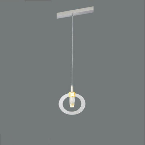 LED Air Bubble Crystal Pendant Light - My Aashis