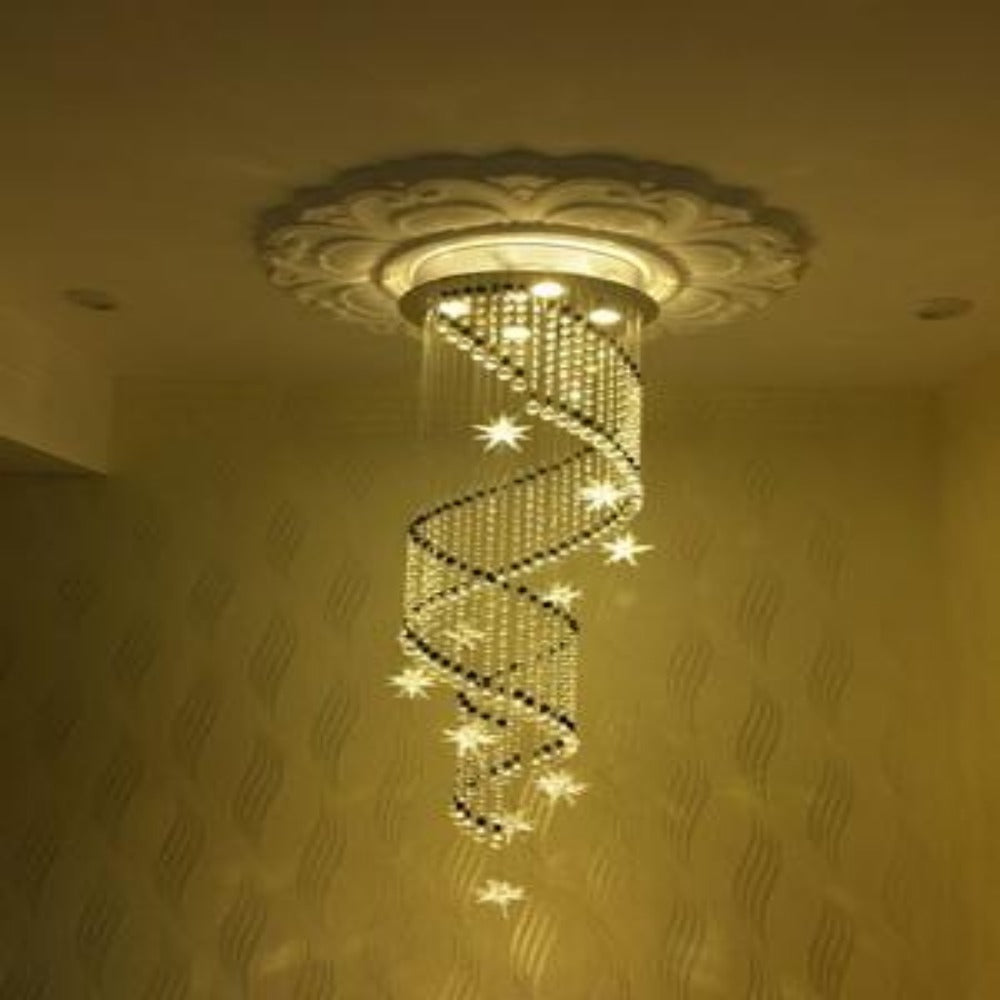Large modern crystal chandeliers for living room lightings spiral large modern crystal chandeliers for living room lightings spiral chandelier aloadofball Images