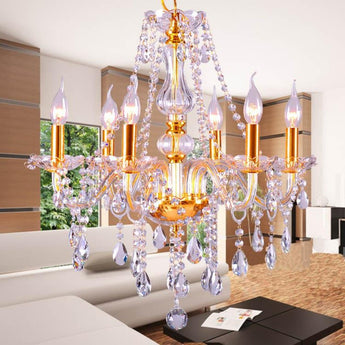 Crystal Chandelier Light Modern Luxury