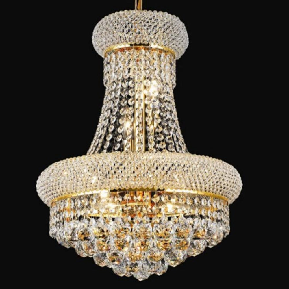 Modern gold crystal chandelier my aashis modern gold crystal chandelier aloadofball Image collections