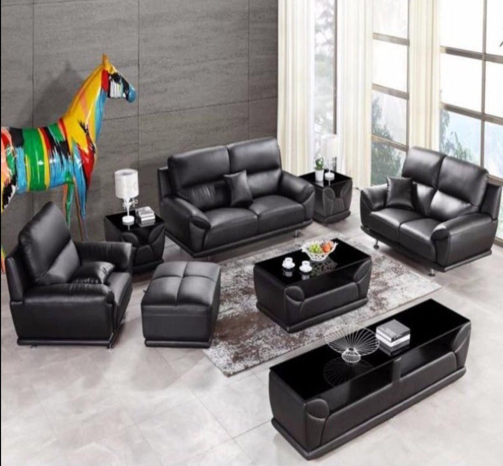 modern leather sectional sofa group side tablecoffee tabletv cabinetottoman modern leather sectional couch v74 modern