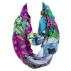 Winter Infinity Scarf Loop Shawl  Cashew Print Ring Scarves 180*80cm - My Aashis