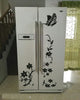 High Quality Creative Refrigerator Black Sticker Butterfly Pattern Wall Stickers Home Decoration Kitchen Wall Art Mural - My Aashis