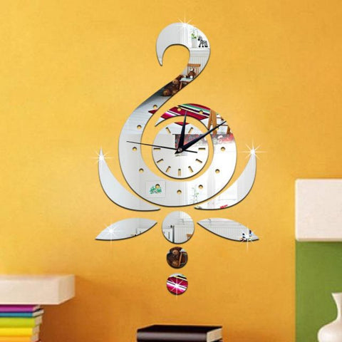 #s Wall clock fashion creative clock clock and mirror wall clock Personality beautiful and nice high quality