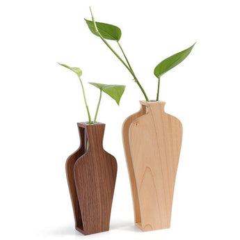 Creative Wooden Vase for Home Decor - My Aashis