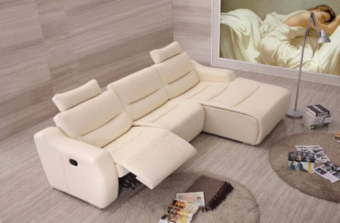 Luxury Leather Recliner Sofa For Living Room - My Aashis