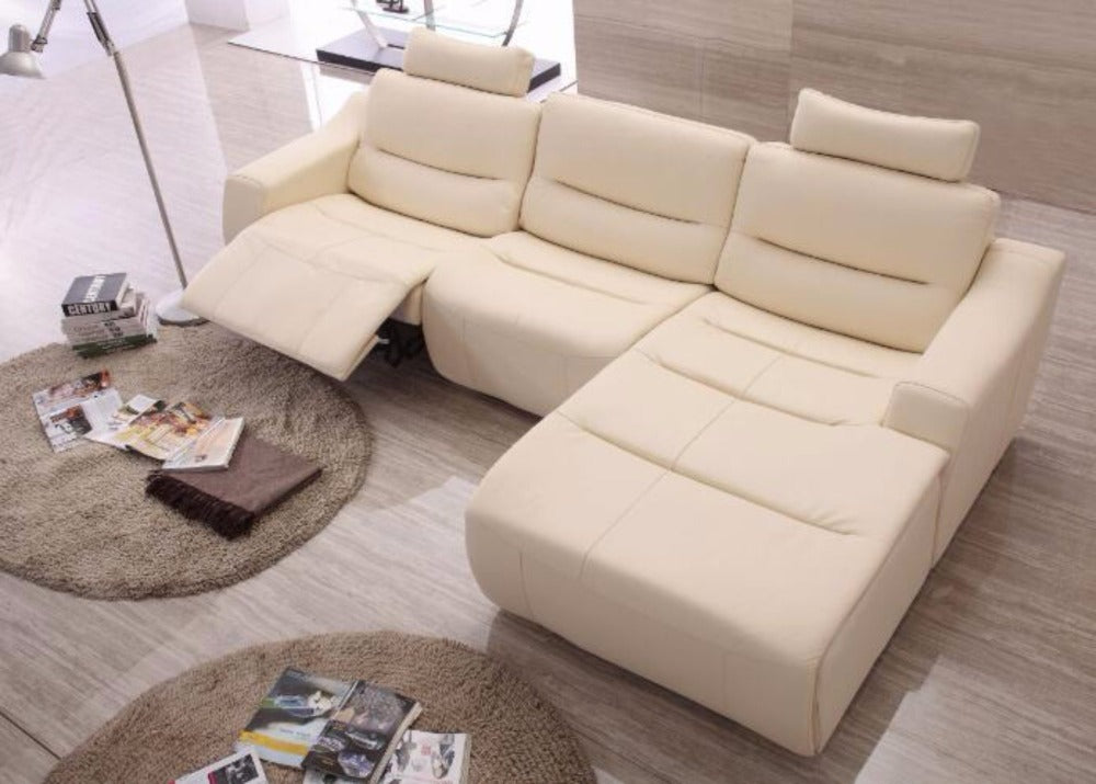 Luxury Sofas for living room leather corner sofa Recliner leather ...
