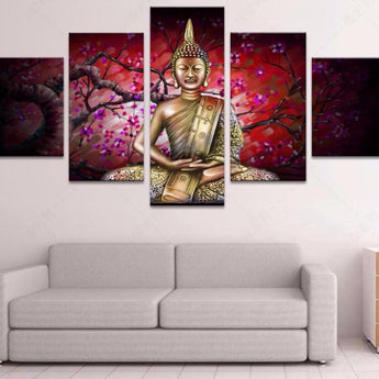 5 piece modern art abstract paintings canvas posters