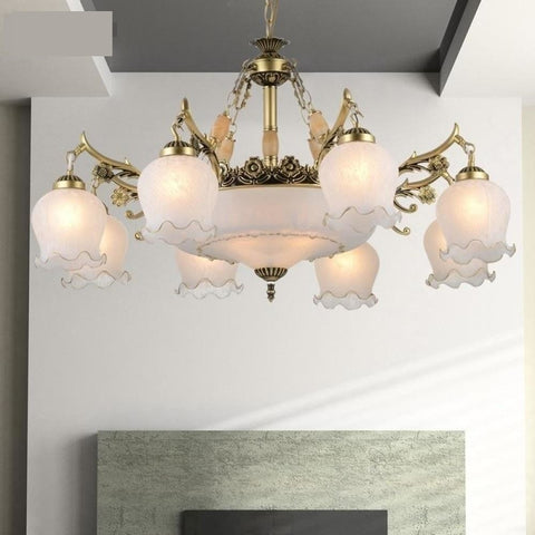 Handmade Golden High Quality Genuine Alloy Vintage Chandeliers - My Aashis