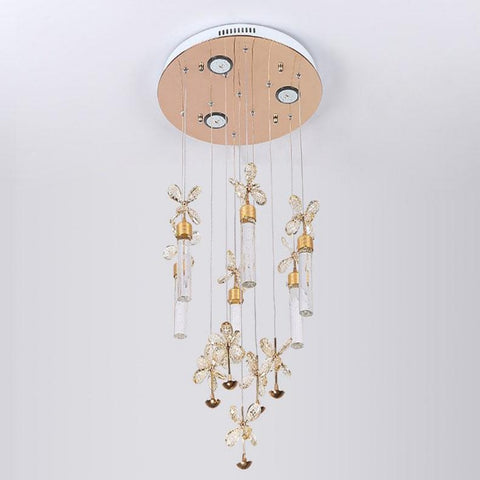 Bubble Column LED Modern Chandelier Lighting - My Aashis