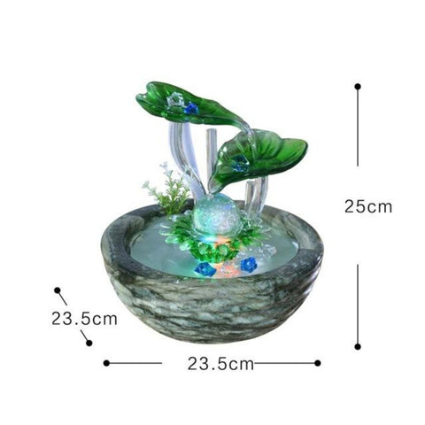 Creative Ceramic Vase Air Humidifier Water Fountain - My Aashis