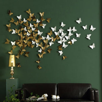 Ceramic Wall Mural Butterfly ornaments