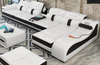 Real Leather Sectional Sofas Minimalist - My Aashis