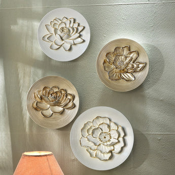 Modern Resin Wall Hangings Flower Wall Decorations