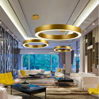 Large Ring Circle LED Kitchen Lights