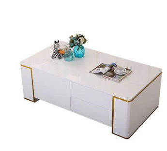 Exotic Style Wooden Coffee Table - My Aashis