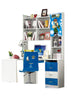Loft Bed Set Kids Table And Chair Wood Kindergarten Furniture - Blue Theme - My Aashis