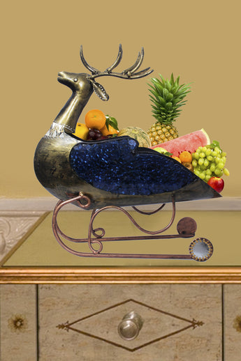 Metal Decorative Fruits Basket