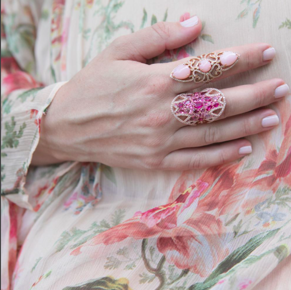 Pretty in Pink Ring