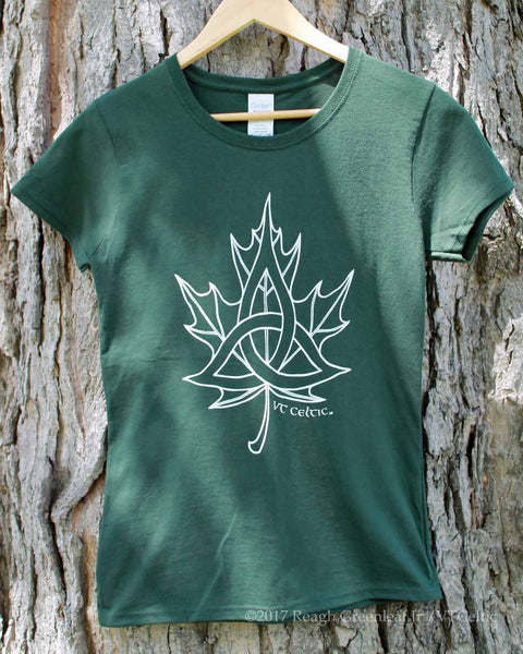 Celtic Sugar Maple (ladies - forest green)