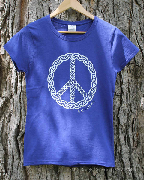 Peace Knot War (ladies - cobalt)