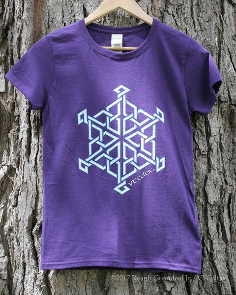 Celtic Snowflake (ladies - purple)