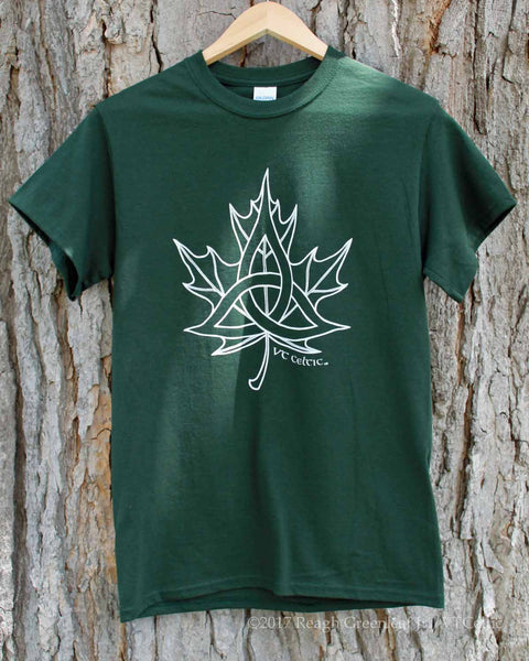Celtic Sugar Maple (mens - forest green)