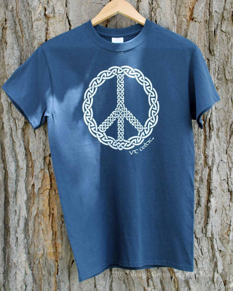 Peace Knot War (mens - gloaming blue)