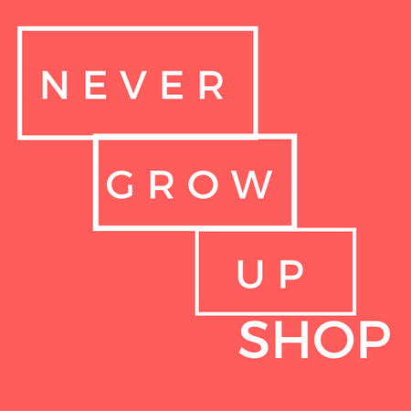 Never Grow Up Shop