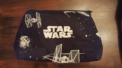 Far Away Galaxy Cosmetic/ Toiletry Bag