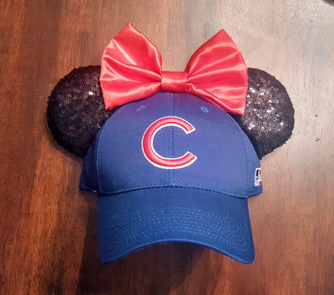Mouse Ear Team Hat- Chicago Cubs