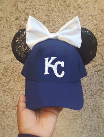 Mouse Ear Team Hat- Royals