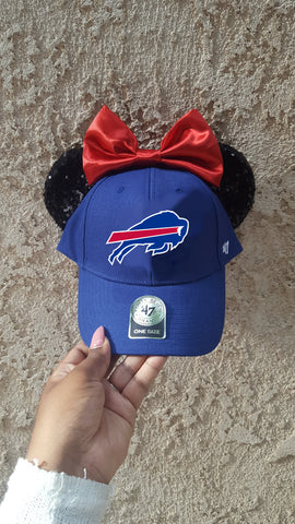 Mouse Ear Team Hat- Buffalo Bills