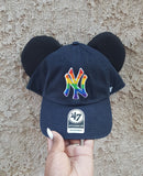 Mouse Ear Team Hat- Yankees