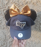 Mouse Ear Team Hat- Rams