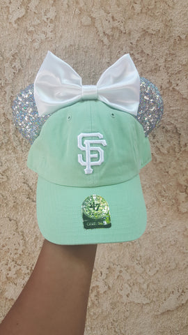Mouse Ear Team Hat-SF Giants Pastel Team Hats
