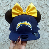 Mouse Ear Team Hat- Chargers