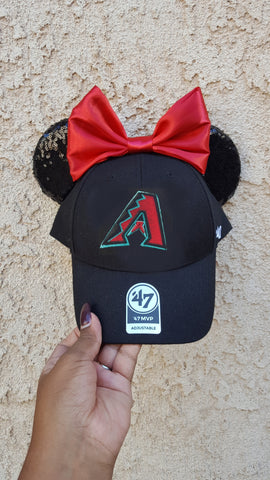 Mouse Ear Team Hat- Arizona Diamondbacks